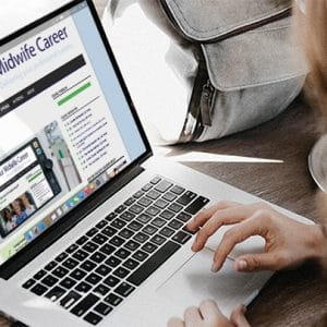 woman taking part in online learning - MW